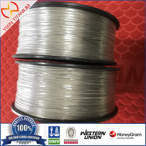 Titanium Wire Gr1 Dia0.8mm Polished Surface