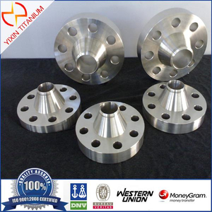 ASTM B 16.5 GR2 Titanium Weld Neck Flange Class 150lb with 2""