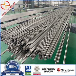 High strength titanium bar for aerospace use