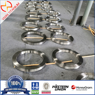 Titanium Alloy ASTM B381 Ti6al4v Forged Ring Forgings